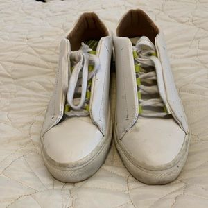 ZARA SNEAKERS WITH YELLOW HIGHLIGHTS SIZE 39